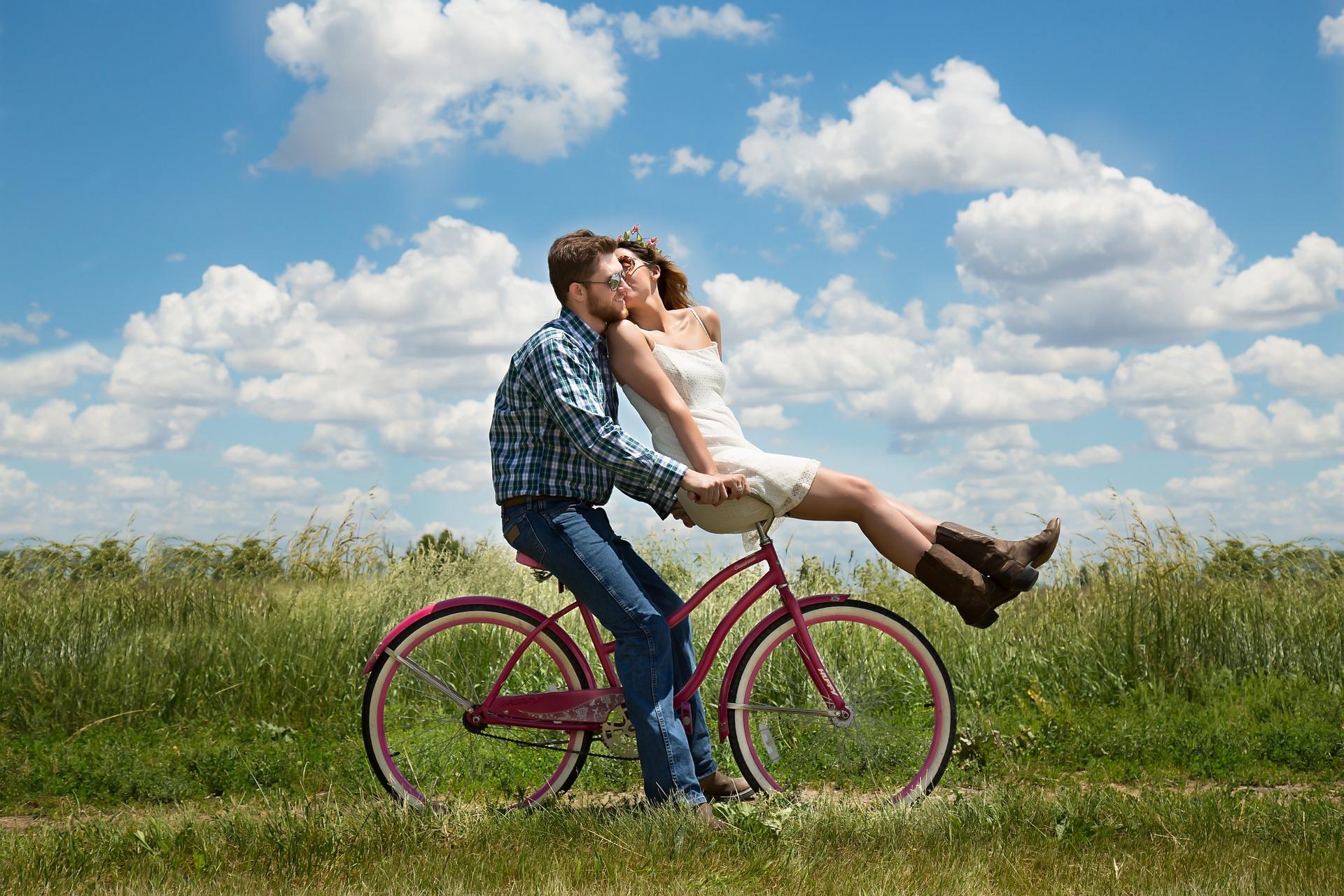La bicicletta è il tuo luogo felice!