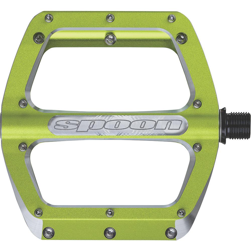 Pedali Spank Spoon - verde - Medium - 100mm, verde