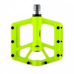 Azonic pedali  MTB DH e AM Americana Pedal alluminio CNC giallo fluo