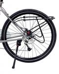 """Portapacchi Hebie""""rearrider"""", nero 26″ + 28″, tubo di alluminio 10 mm"""
