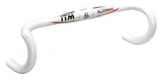 Manubrio da corsa ITM Alcor80Wing bianco M-X31,8 mm,440mm,Allum 6061 laccato bianco