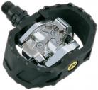 Pedali SPD Shimano PD-M 424 Nero/argento, 9/16″, senza riflettori