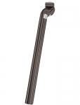 tubo reggisella Patent di allu. nero, M-X 31,6mm, lung. 350mm