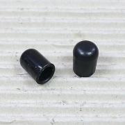 Tappo per tubo Tubus nero 8 mm